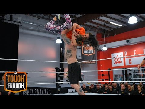 Tanner Takes On GiGi: WWE Tough Enough, August 11, 2015