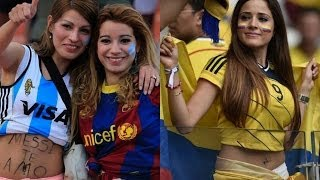 hottest football fans around the world 2014 part3