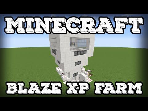 Minecraft Tutorial - Blaze XP Farm(Minecraft 1.10+)