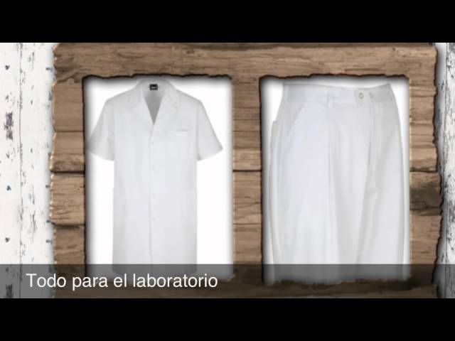 BATA LABORATORIO BLANCA INFANTIL