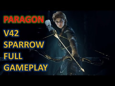 Paragon V42 - Sparrow All Out Damage Full Gameplay