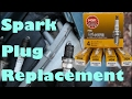 Spark Plug Replacement on a '93-'97 Toyota Corolla