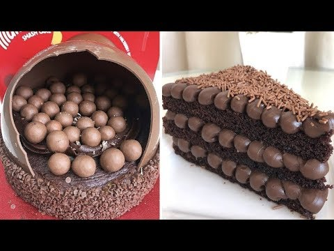 My Favorite Chocolate Cake Recipes | DIY Chocolate Cake | The Best Chocolate Cake Decorating Ideas