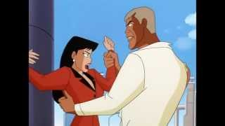 Metallo kisses Lois Lane - Superman The Animated Series
