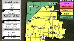Severe Weather Update: 6 AM Monday March 7, 2016