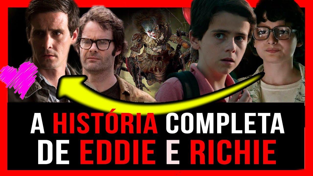 IT 2: ENTENDA TUDO SOBRE RICHIE E EDDIE e o segredo entre eles! (SPOILERS DO LIVRO)