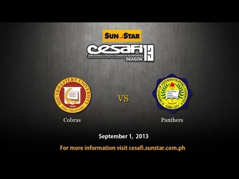 SWU Cobras vs USPF Panthers - September 1, 2013