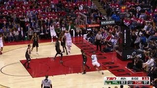 Jonas Valanciunas Pump Fake & MONSTER Dunk On Thon Maker - Gm5
