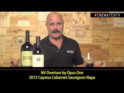 What I Drank Yesterday  Caymus vs Opus One - click image for video