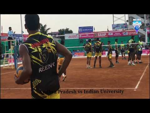 Indian University vs Andhra Pradesh | Federation cup 2018 Highlights  Watch HD
