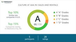 Working at AAA RV Sales and Rentals - May 2018