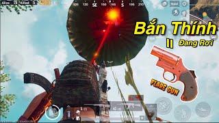 PUBG Mobile | Dùng Flare Gun Bắn Vào Air Drop Đang Rơi ...và Cái Kết...
