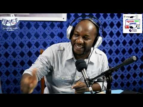 SPORTFM TV - PLATEAU FOOT EUROPE DU 11 FEVRIER 2019 PRESENTE PAR ANGELO FOLLYKOE