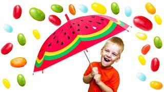 Мика и история для детей про вредные сладости и конфеты