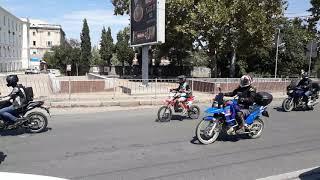 Едут с Байк-Шоу 2017,Севастополь