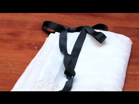 How To Use Ribbon On Shower Curtains DIY Crafts