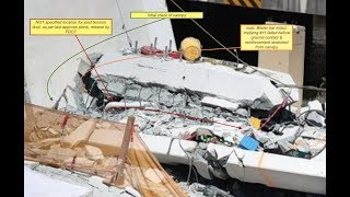 FIU bridge collapse Misplaced Post longitudinal tension ducts contributed to failure