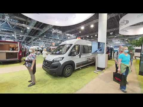 Download 2022 Cheap Campervans at Caravan Salon.  Live Broadcast.