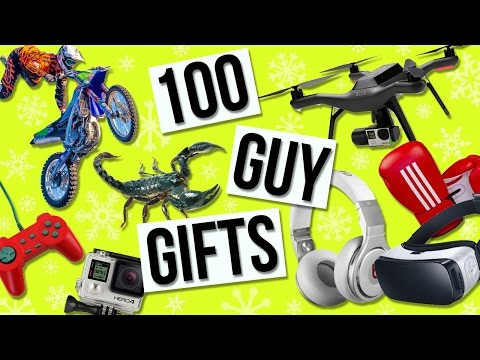 100 Christmas Gift Ideas! Holiday Gifts For Him!