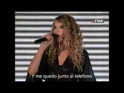 Taylor Swift - Forever & always LIVE subtitulado en español