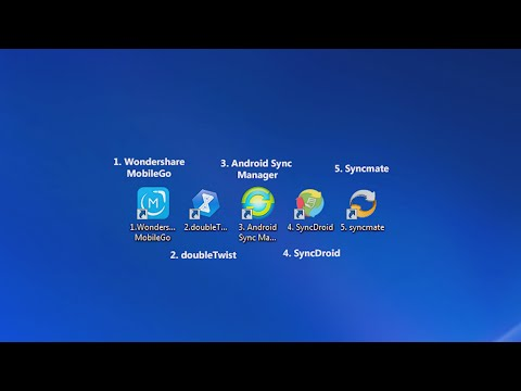 Top 5 Android Phone/Tablet Sync Manager for PC