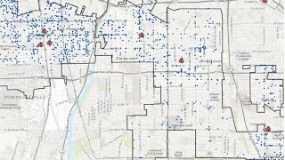 ArcGIS Online Join Features Demo 4 – Identify gang related crimes close to schools