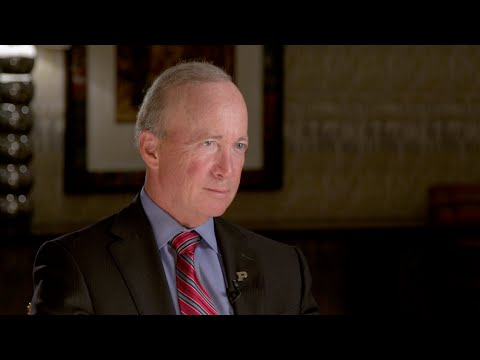 Mitch Daniels on How to Cut Government & Improve Services