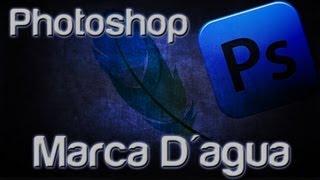 Photoshop CS6 - Efeito Marca D'água