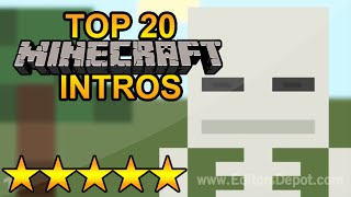 (BEST) Top 20 FREE MINECRAFT Intro Templates - SONY VEGAS, AFTER EFFECTS, CINEMA 4D