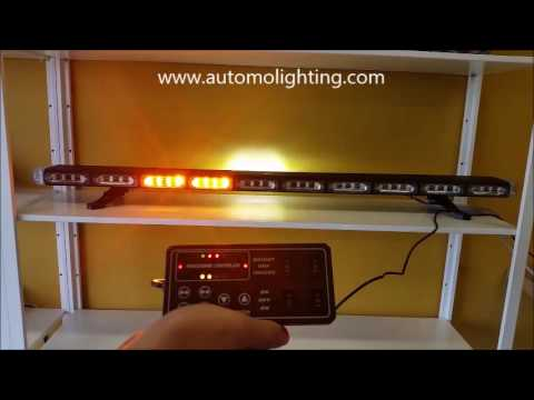 48 Quot Emergency Warning Strobe Lightbar For Tow Truck