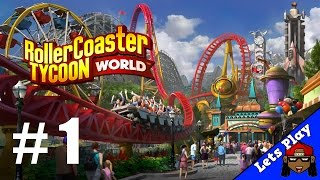 RollerCoaster Tycoon World Sandbox - Part 1