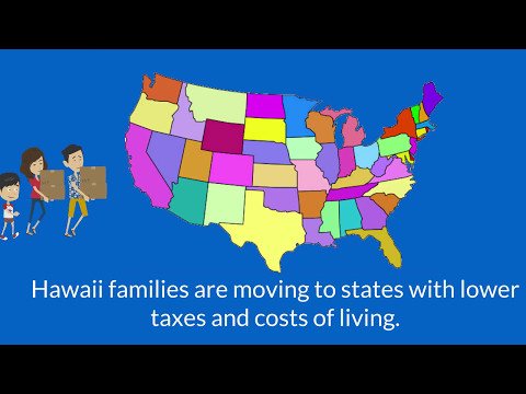 Local Families Leaving Hawaii