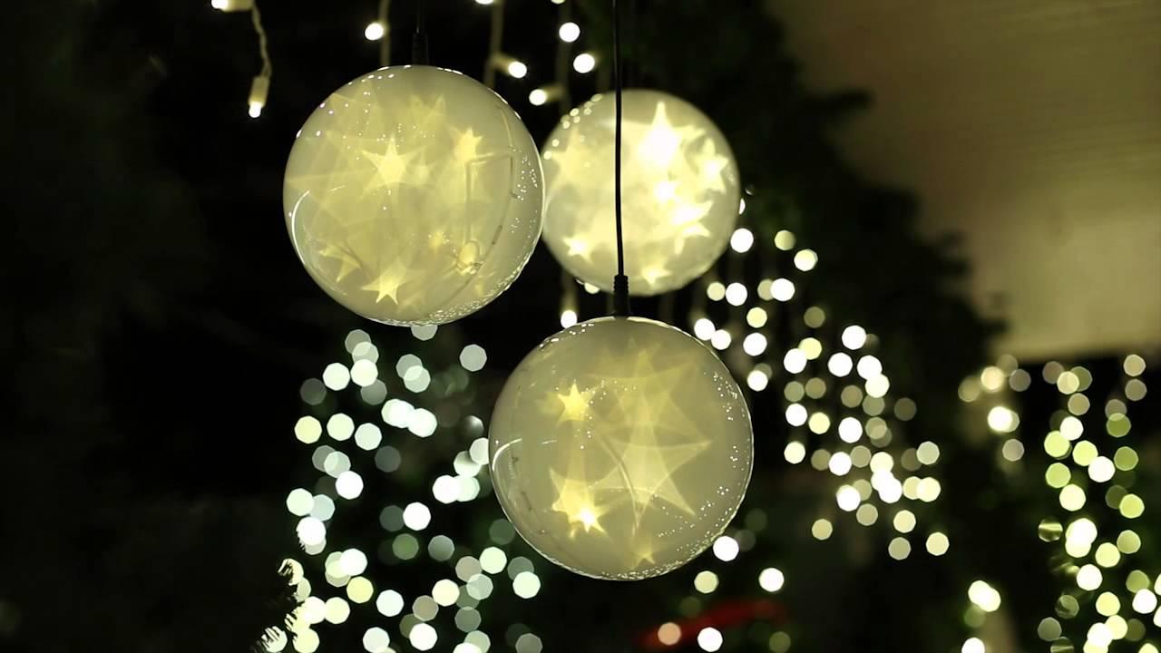 s4 lights plug in led holographic starfire spheres applications - Sphere Christmas Lights