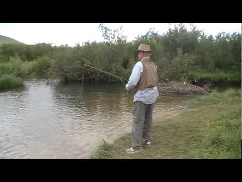 Wyoming fly fishing tongue river youtube for Wyoming out of state fishing license