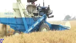 STANDARD TSC -513 TRACTOR MOUNTED COMBINE HARVESTER