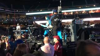 Andy Grammer METS post game concert 2016