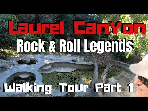 Laurel Canyon Walking Tour Part 1 Mama Cass, Carole King, Hal Ashby, Rolling Stones House