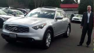 2011 Infiniti FX35 review, start up, exhaust- Shocking looks, wicked fast!