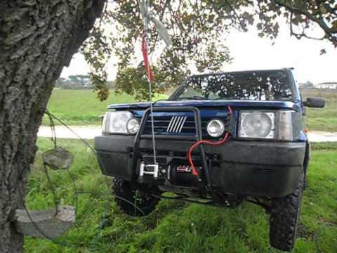 Panda 4x4 super verricello youtube for Panda 4x4 sisley off road