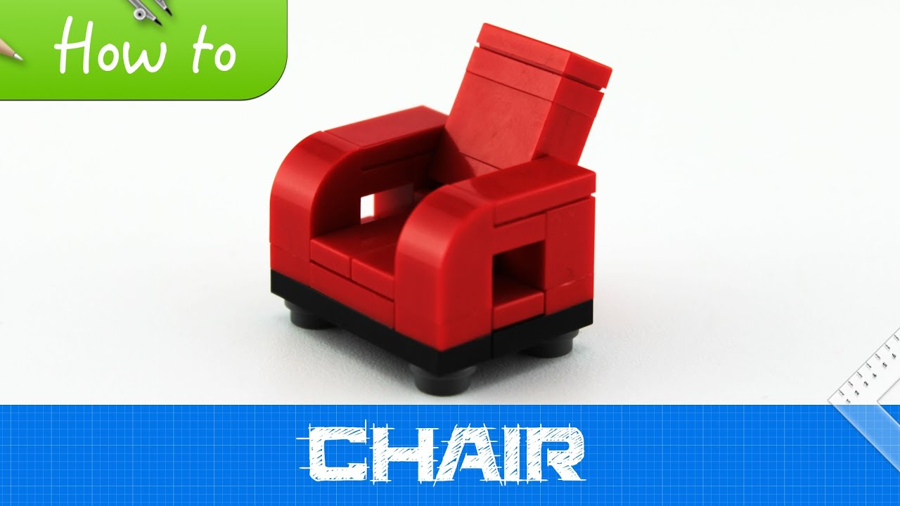 How To Make A Lego Chair Moc Basic Youtube