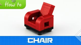 How To Make A Lego Chair (moc, Basic)