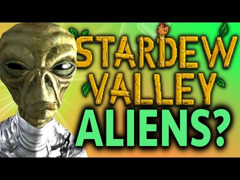 STARDEW VALLEY Secrets and Theories: Junimo Alphabet, Dwarves, Shadow People and ALIENS!