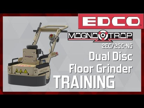 Magna-Trap® Dual Disc Concrete Floor Grinder Training Video