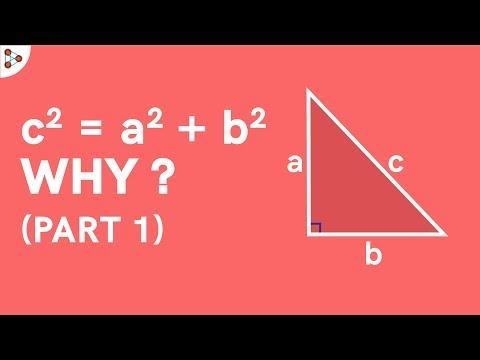 How Do We Derive The Pythagoras Theorem? Part 1
