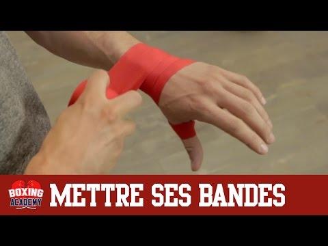 BANDAGE BOXE - METTRE SES BANDES DE BOXE EN 2 MINUTES (facile et rapide)