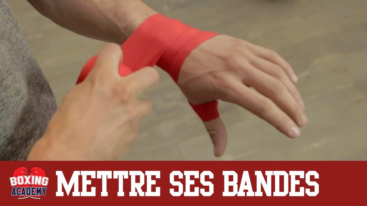 bandage boxe mettre ses bandes de boxe en 2 minutes facile et rapide youtube. Black Bedroom Furniture Sets. Home Design Ideas