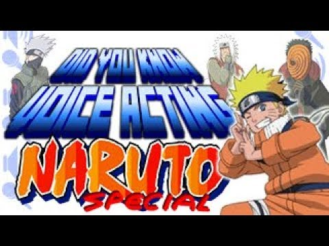 Naruto Special  Did You Know Voice Acting?