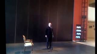 Смотреть видео Открытие выставки скульптора Андрея Волкова, Москва, театр Петра Фоменко, 2014г. онлайн