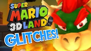 Super Mario 3D Land GLITCHES! - What A Glitch!