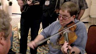 """Hallway Jam - Pete Wernick and Michael Cleveland - """"Back Up And Push"""""""